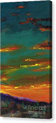 2nd In A Triptych Canvas Print by Frances Marino