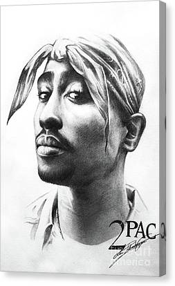 2pac Canvas Print by Lin Petershagen
