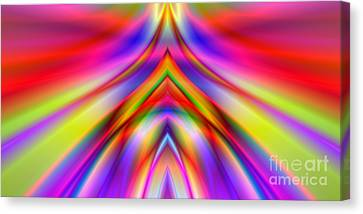 2x1 Abstract 337 Canvas Print by Rolf Bertram