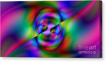 2x1 Abstract 344 Canvas Print by Rolf Bertram