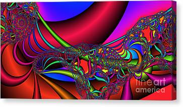 2x1 Abstract 360 Canvas Print by Rolf Bertram