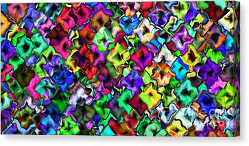 2x1 Abstract 405 Canvas Print by Rolf Bertram