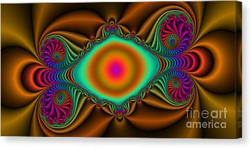 2x1 Abstract 423 Canvas Print by Rolf Bertram