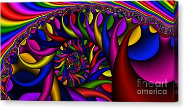 2x1 Abstract 427 Canvas Print by Rolf Bertram