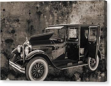1924 Buick Duchess Antique Vintage Photograph Fine Art Prints 105 Canvas Print by M K  Miller