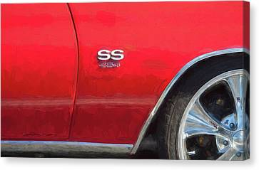 1970 Chevy Chevelle 454 Ss  Canvas Print by Rich Franco