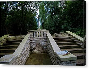 Abney Park Cemetery Canvas Print by Oliver Kluwe