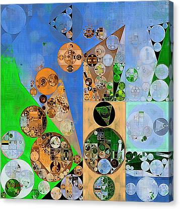 Abstract Painting - Havelock Blue Canvas Print by Vitaliy Gladkiy