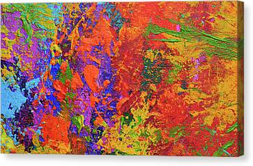 Abstract Painting Modern Art Contemporary Design Canvas Print
