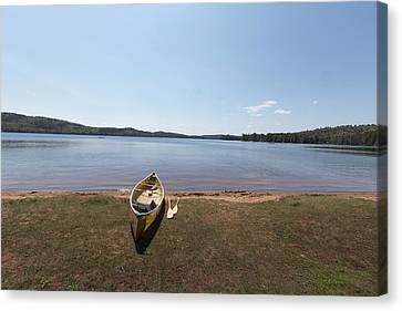 Algonquin Park, Ontario - Canada Canvas Print by Josef Pittner
