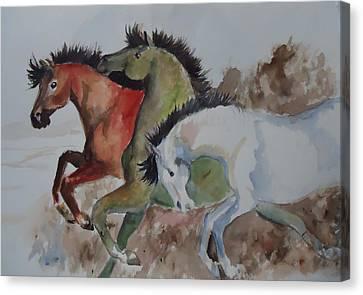 3 Amigos Canvas Print