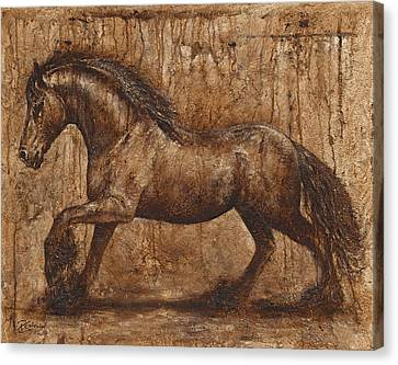 Ancient Glory Canvas Print by Paula Collewijn -  The Art of Horses