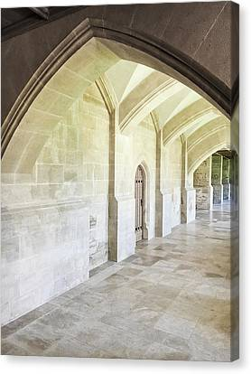 Arches Canvas Print by Tom Gowanlock