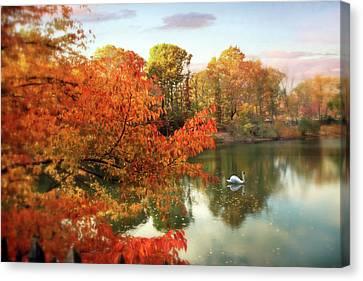 Autumn Splendor  Canvas Print by Jessica Jenney