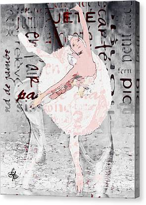 Ballet Canvas Print by Lynda Payton