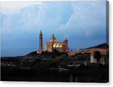 Basilica Ta Pinu - Gozo Canvas Print by Joana Kruse