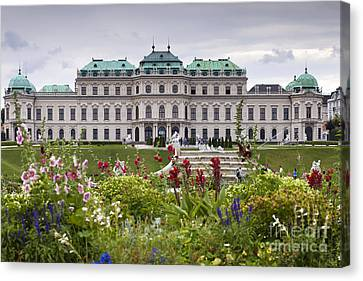 Belvedere Palace Canvas Print by Andre Goncalves