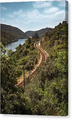 Belver Landscape Canvas Print by Carlos Caetano