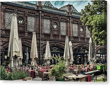 Berlin Cafe Canvas Print