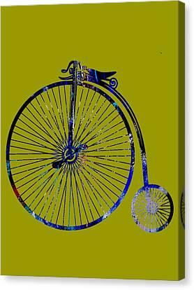 Bicycle Collection Canvas Print by Marvin Blaine