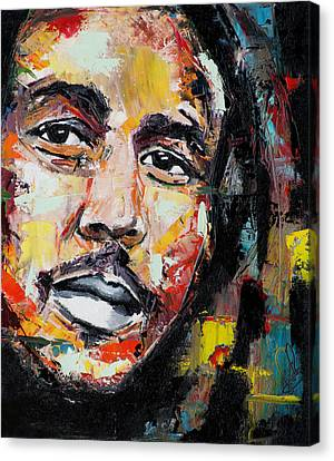 Bob Marley II Canvas Print by Richard Day