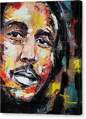 Bob Marley II Canvas Print