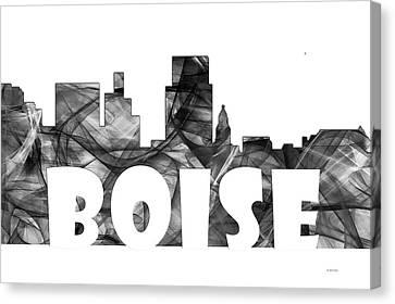 Boise Idaho Skyline Canvas Print by Marlene Watson