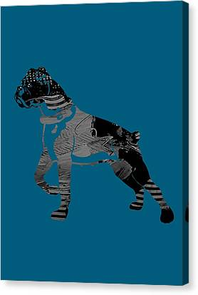 Boxer Collection Canvas Print by Marvin Blaine