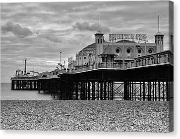 Brighton Pier Canvas Print by Nichola Denny