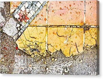 Broken Tiles Canvas Print
