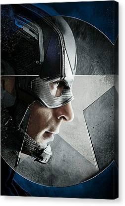 Captain America Civil War 2016 Canvas Print