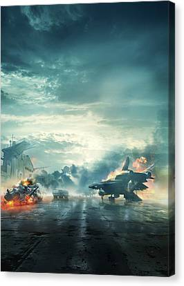 Captain America The First Avenger 2011 Canvas Print