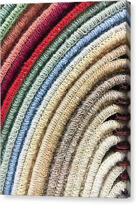 Carpet Colours Canvas Print by Tom Gowanlock