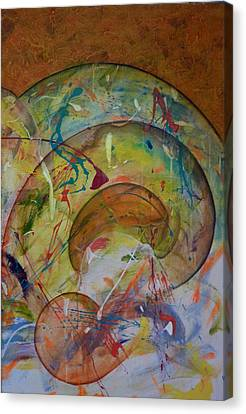 Cast Off Consciousness Series Canvas Print by Joey Dott