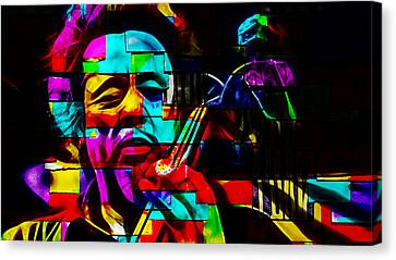 Charles Mingus Collection Canvas Print