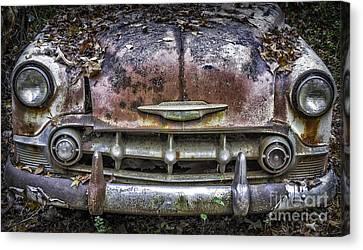 1954 Chevrolet Front End Canvas Print by Walt Foegelle