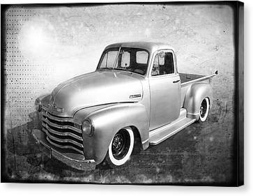 Chevy Pickup Canvas Print by Keith Hawley