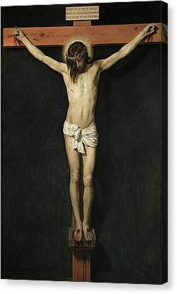 Christ On The Cross Canvas Print by Diego Velazquez
