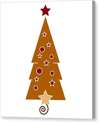 Christmas Tree Canvas Print by Frank Tschakert