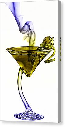 Cocktails Collection Canvas Print
