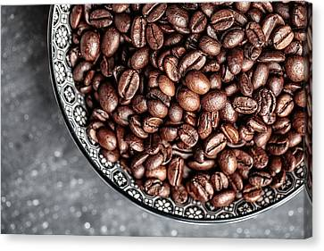 Coffee Canvas Print by Nailia Schwarz
