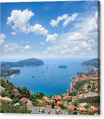 cote dAzur, France Canvas Print by Anastasy Yarmolovich