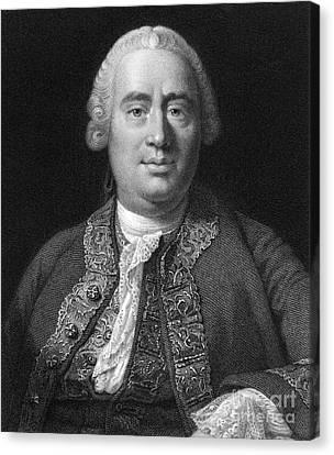 David Hume, Scottish Philosopher Canvas Print
