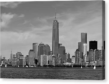 Downtown Manhattn - Freedom Tower Canvas Print