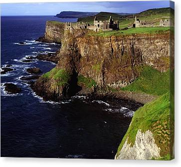 Dunluce Castle, Co. Antrim, Ireland Canvas Print by The Irish Image Collection