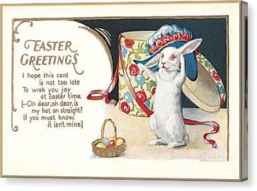 Easter Greetings Canvas Print by David and Lynn Keller