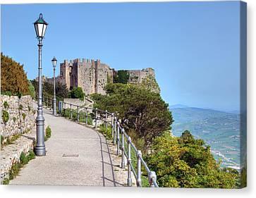 Erice - Sicily Canvas Print