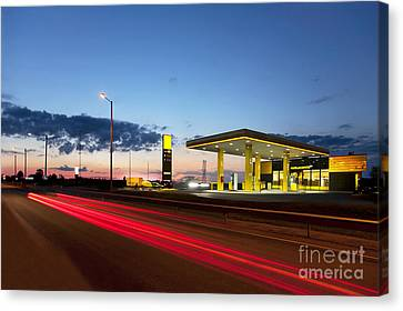 Estonian Gas Station Canvas Print by Jaak Nilson