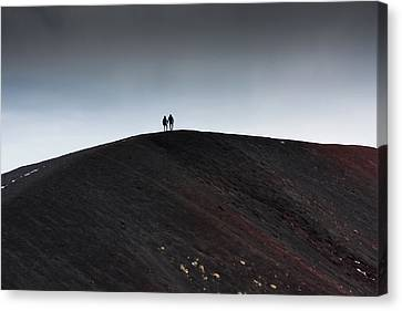 Etna, The Volcano Canvas Print by Bruno Spagnolo
