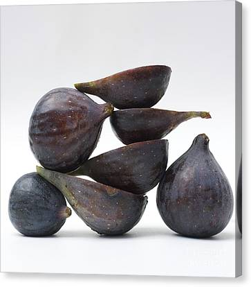 Foodstuffs Canvas Print - Figs by Bernard Jaubert